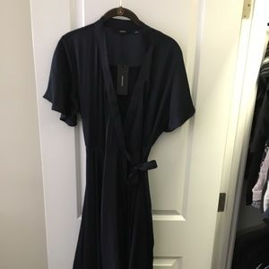 Vero Moda Night Sky Alanna Wrap Dress